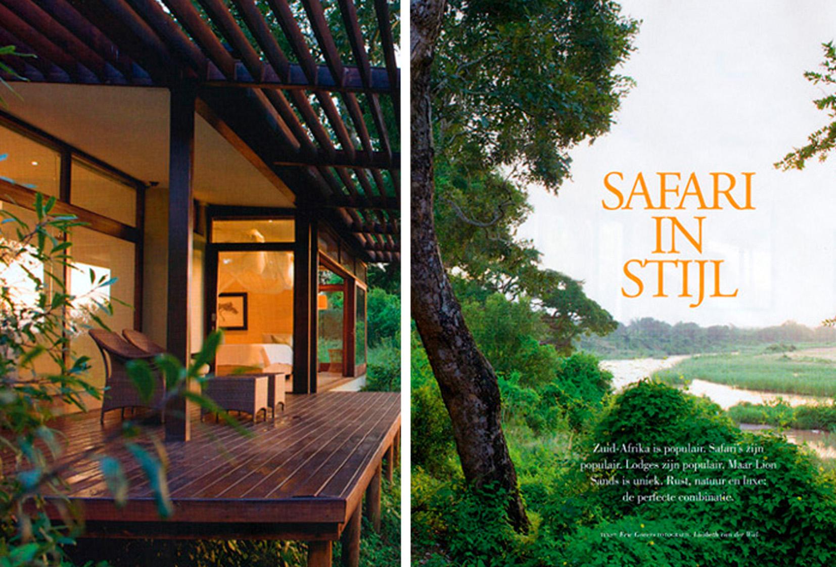 Safari in Stijl  Zuid Afrika