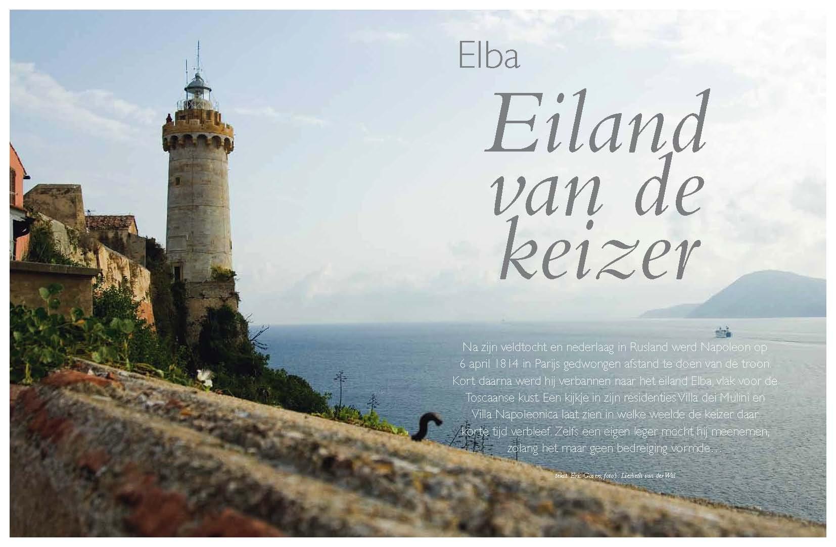 Elba, Eiland van de Keizer
